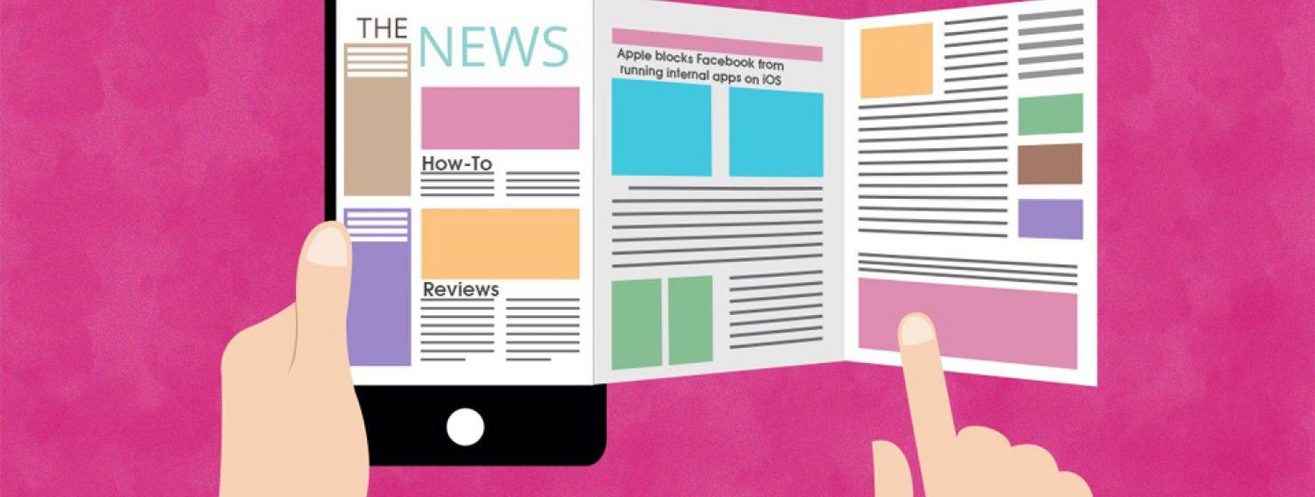 Best mobile app for news 960x560