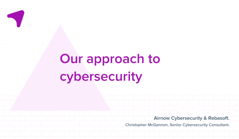 Airnow cybersecurity approach to cybersecurity