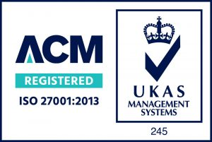 ACM Registered - ISO 27001:2013